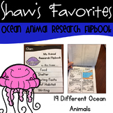 Ocean Animal Research Flipbooks {19 Different Flipbooks}
