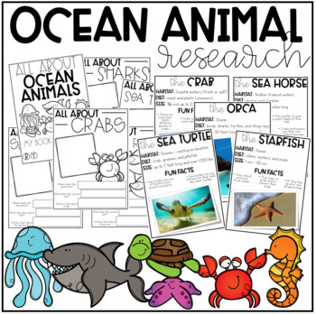 Ocean Animal Research (K-1)