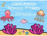 Ocean Animal Research Pack