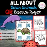 Ocean Animal Research Project with QR codes