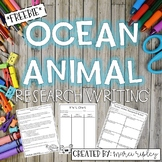Ocean Animal Research Project -- Everything you Need!