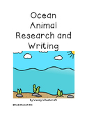 Ocean Animal Research and Writing
