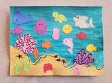 Ocean Animal Scene Craft with Instructions and Bonus Mermaids