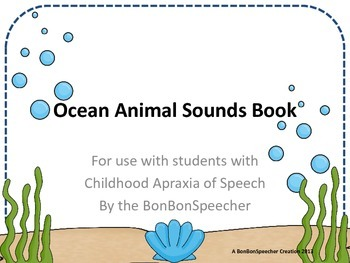 Ocean Animal Sounds Book