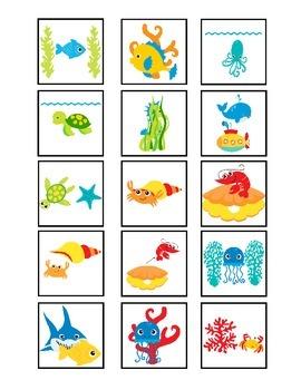 Ocean Animal Spatial Concepts - Summer School!