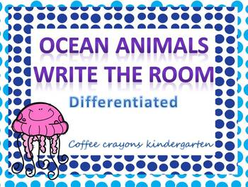 Ocean Animal Write the Room