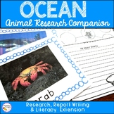 Ocean Animal Report and Research Activities