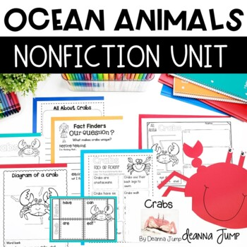 Image of: Fish Teachers Pay Teachers Ocean Ocean Animals By Deanna Jump Teachers Pay Teachers