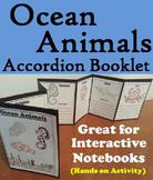 Sea Animals Activity/ Foldable