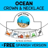 Ocean Animal Activity Crown and Necklace