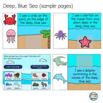 Ocean Animals Mini Books