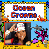 Ocean Animals Craft Activities : Crowns and Wristbands - Ocean Craft