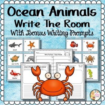 Image of: Mommy Teachers Pay Teachers Ocean Animals Kindergarten By Maureen Prezioso Tpt