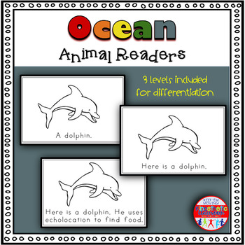 Ocean Animals - A Differentiated Set of Emergent Readers