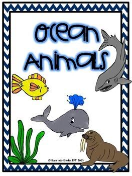 Ocean Animals- A Science Unit