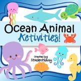 Ocean Animal  Activities