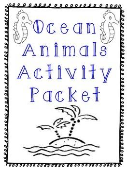 Ocean Animals Activities