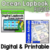 Ocean Animals Activities Interactive Notebook Digital and