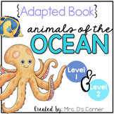 Ocean Animals Adapted Books ( Level 1 and Level 2 )
