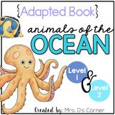Ocean Animals Adapted Books [Level 1 and Level 2] | Aquati