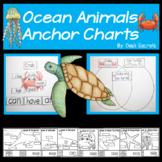 Ocean Animals Anchor Charts