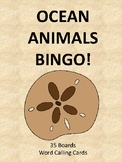 Ocean Animals BINGO!