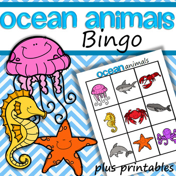 Ocean Animals Bingo