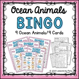 Ocean Animals Bingo