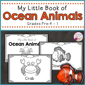 Ocean Animals Booklet