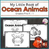 Ocean Animals Booklet