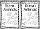 Ocean Animals Booklet AND Comprehension Worksheet