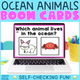 Ocean Animals Boom Cards - Distance Learning