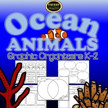 Ocean Animals (Shark, Crab, Dolphin and Clown Fish Crafts!)