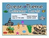 Ocean Theme Calendar Set