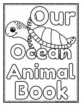 Ocean Animals Class Book