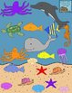 Ocean Animals Clip Art Set {Personal & Commercial Use}