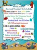 Ocean Animals Color and Vocabulary Sorts