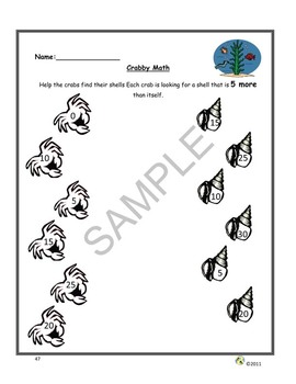"""""""Ocean Animals"""" Common Core Aligned Math and Literacy Unit - ACTIVboard EDITION"""