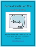 """""""Ocean Animals"""" Common Core Aligned Math and Literacy Unit"""