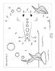 Ocean Animals Connect the Dots - Dot to Dot Skip Counting by 2, 5, 10 Worksheets