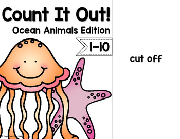 Ocean Animals Count It Out Adapted Book