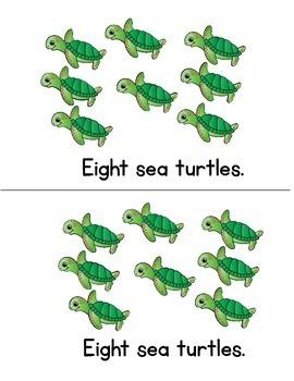 Ocean Animals Emergent Reader!