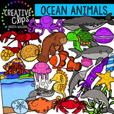 Ocean Animals Clipart {Creative Clips Clipart}