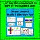 Ocean Animal Site Word Reader (color words) Literacy Center