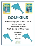 Dolphins National Geographic Level 2 Reader