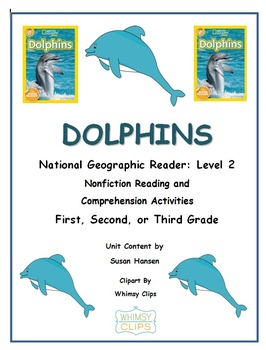 Ocean Animals: Dolphins National Geographic Level 2 Reader