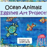 Ocean Animals Mosaic Eggshell Art Project!