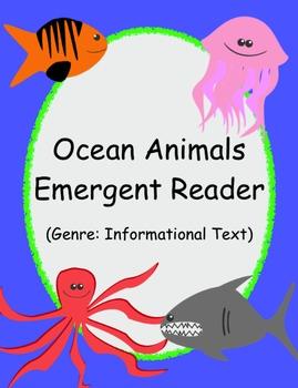 Ocean Animals Emergent Reader (Informational Text)