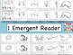 Ocean Animals Emergent Reader/Write the Room/Word Cards/Ac