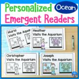 Ocean Animals Emergent Readers
